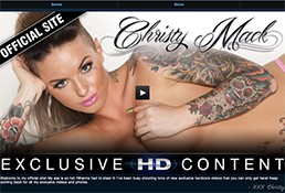 Top pay porn site to watch wonderful Christy Mack flicks