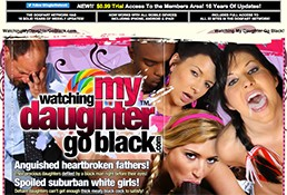 One of the top membership porn websites if you like amazing daughters fucked by black men