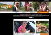 one of the most worthy girl on girl porn websites proposing lesbian sex in the car