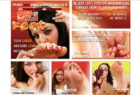 Great amateur porn site to enjoy hot chicks showing their feet
