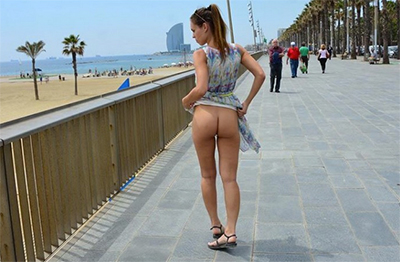Great adult paid website with astonishing street girl videos
