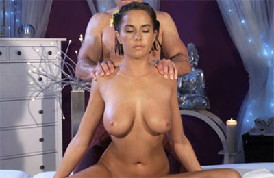 porn massage material on FakeHub network