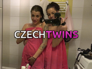 among the finest czech porn sites providing two hot twins fucking hard