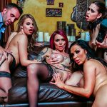 Anna Bell Peaks and her friends