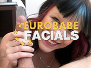 among the greatest facial porn websites with fresh girlfriends having great facials